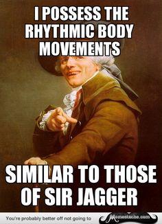 See more 'Joseph Ducreux / Archaic Rap' images on Know Your Meme! Joseph Ducreux, Memes Humor, Funny Memes, Art Memes, Song Memes, Stupid Memes, Funny Quotes, Funniest Jokes, Bad Humor