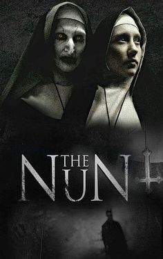 The Nun 1 Movie Poster Canvas Picture Art Print Premium Quality A0 A4