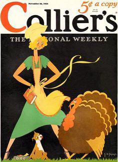C. Dianne Zweig - Kitsch 'n Stuff: Collecting Vintage Thanksgiving Magazine Cover Art