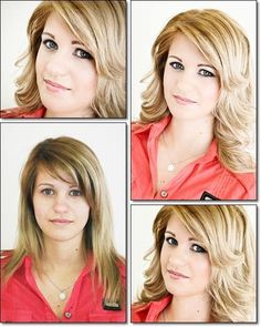 before and after make up by MR STUDIO