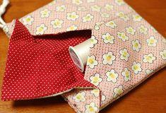 Sacolinha em origami