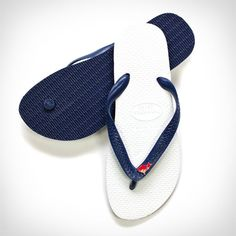 ACE HAVAIANAS // $25. We are into rebellious classics. Havaianas come from Brazil in the 60s, where the cool kids started reversing the soles so the black was on top and white was on the bottom. They made an exclusive re-issue of this original colorway for us. Each sandal bears a pin in the likeness of the coyote mascot of Ace Palm Springs. Available in black (men's US sizes 4, 6, 7, 10 and 12) and blue (men's US sizes 4, 6, 7, 10 and 12). See chart on our shop for precise dimensions.