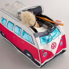 VW Van Toiletry Bag #Bag, #Licensed, #Toilet, #Unconventional