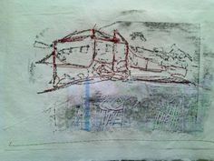 A stitch sketch - Cas Holmes