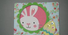 I got inspired to make an Easter card. Good thing, since Easter is only what, 6 days away? I was actually looking at a picture of a Christma...
