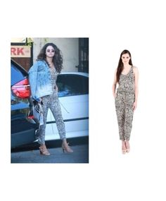 Selena Gomez in Ella Moss Kona Jumpsuit || available online now at www.shopcrocus.com