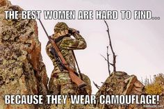 Women who hunt...