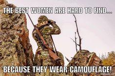 Women who hunt...