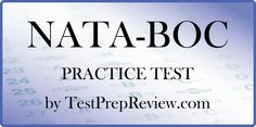 Free NATA-BOC Practice Test Questions by TestPrepReview. Be prepared for your NATA-BOC test and get the score you need on NATA-BOC exam day!