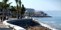 Malecon \\  Puerto Vallarta, Mexico