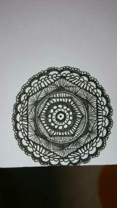 my zentangle circle①
