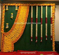 Pellikuthuru Decor DecorbyKrishna is taking orders for eco-friendly home based events decor, like Pe