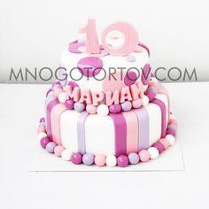 Картинки по запросу торт на день рождения девочке 10 лет