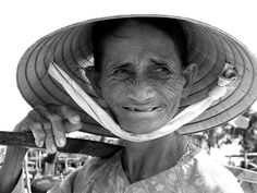 Wrinkled old face, Vietnam | Flickr - Photo Sharing!