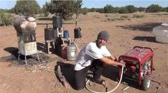 How A Wood Stove Runs A Generator – Produces Gasoline, Runs a Fridge And Heats Hot Water At The Same Time