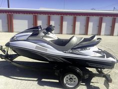 """This Jet Ski Ultra 300LX looks fast, even when standing still...! OWNER SAYS """"MINT CONDITION"""" and ONLY """"17 HOURS""""...!!!"""