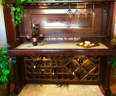 Images Of Old Upright Pianos Made Into Bars For The Home