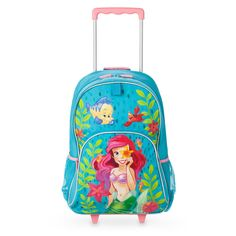Product Image of The Little Mermaid Rolling Backpack - Personalizable   1  Back To School Backpacks baacc070f9770