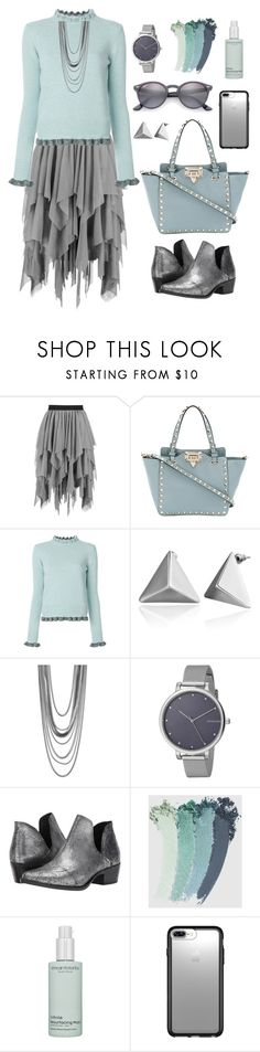 """""""Untitled #2117"""" by ebramos ❤ liked on Polyvore featuring Boohoo, Valentino, RED Valentino, Nordstrom, Skagen, Coolway, Gucci, African Botanics, Speck and Ray-Ban"""