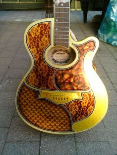 Cool Guitar Custom Paint Jobs7 Jobs