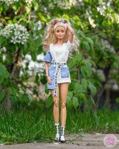 Barbie Life, Barbie House, Barbie World, Barbie And Ken, Skate, Beautiful Barbie Dolls, Barbie Fashionista, Overall Shorts, Capsule Wardrobe