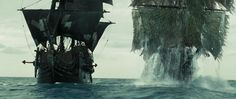 Pirates of the Caribbean 2. Flying Dutchman vs. Black Pearl.