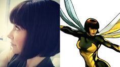 Evangeline Lilly's Hairdo For Ant-Man Is So Perfect For Wasp It Hurts from io9. So... I promised myself I wouldn't get my hopes up for this movie, but...