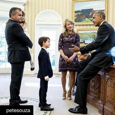 "This pic and accompanying story bring me to tears every.single.time.  #remembering #44  #Repost @petesouza  Remember Alex the six-year-old boy who wrote President Obama a letter about the Syrian boy photographed in the ambulance. Alex visited the Oval Office with his family the day after the election. ""Dear President Obama  Remember the boy who was picked up by the ambulance in Syria? Can you please go get him and bring him to [my home]? Park in the driveway or on the street and we will be…"