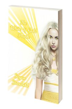Image of the book cover for 'The White & Gold People' by Segun Starchild. White Gold, 3d, Book, Cover, People, Image, Dresses, Vestidos, Dress