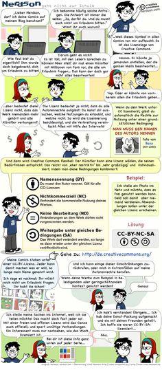 Comic erklärt Creative Commons #coer13