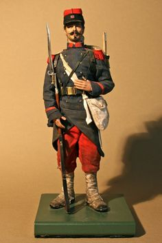 Pad75 -- French Infantry, Franco Prussian War, 1870