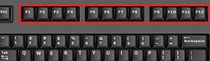 Většině lidem stačí v rámci klávesnice pouze základní klávesy s písmeny, čísly, mezerníkem, a nic složitějšího nepotřebuje. Ty v nejhornější řadě, čili F1 až F12, téměř vůbec nepoužívají, protože prostě nevědí, na co všechny slouží a jaké další klávesy, resp. jakou kombinaci, je třeba použít. Mno