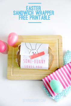 Easter Sandwich Wrapper – Free Printable