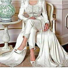 قفطان جزائري راقي Algerian Kaftan luxury