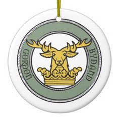 Gordon Crest Ornament