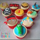Jake & The Neverland Pirates Cupcakes