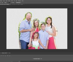 how to delete a background in a photo via photoshop