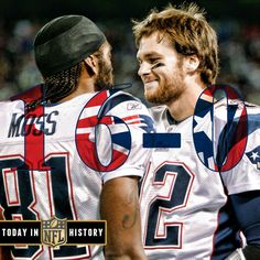 10 yrs ago today the Patriots became the 1st team to go 16-0, 12-29-07. (Moss & Brady)