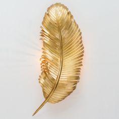 OMG / Gold Leaf Sconce!!!!