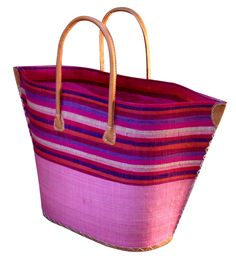 Large Bato basket in pink
