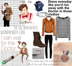 """Doctor Who outfit!!!"" by mormonstyle on Polyvore"
