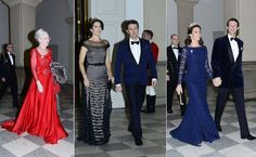 On 15 March 2016, Queen Margrethe hosted a gala dinner at the Christiansborg Palace in Copenhagen. The Gala Dinner was attended Crown Prince Frederik, Crown Princess Mary, Prince Joachim and Princess Marie.