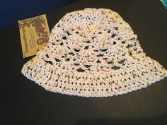 A personal favorite from my Etsy shop https://www.etsy.com/ca/listing/532286607/youth-vintage-cotton-sun-hat