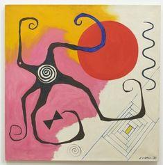 Starfish on Pink, 1949;  A02563 Alexander Calder