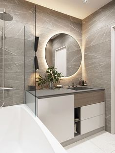 House Bathroom, Bathroom Interior Design, Bathroom Shower Walls, Modern Bathroom Design, Tiny House Bathroom, Bathroom Design Inspiration, Bathtub Design, Bathroom Design Luxury, Bathroom Decor