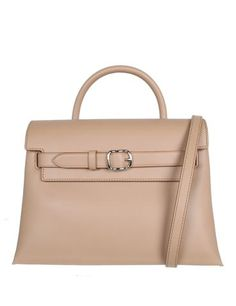 Notes Attica crossbody bag with belted front closure and magnetic flap closure. Handbag has top h...