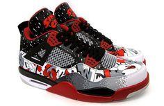 """Air Jordan 4 """"Sinner"""" Custom"""
