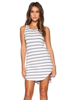 Feel the Piece striped Robby dress in Navy & White | REVOLVE