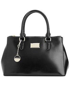 DKNY Handbag, Hudson Leather Small Work Shopper - All Handbags - Handbags & Accessories - Macy's