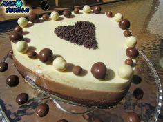 Tarta tres chocolates Ana Sevilla con Thermomix